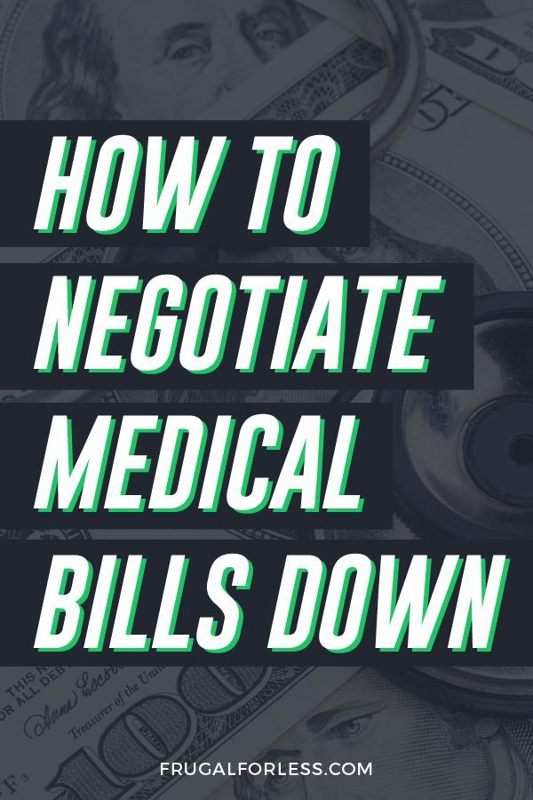 How to Negotiate Medical Bills Down To Save You Money