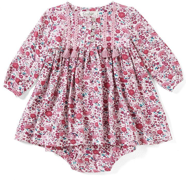 Jessica Simpson Baby Clothes Fascinating Jessica Simpson Baby Girls Newborn60 Months Printed ALine Dress