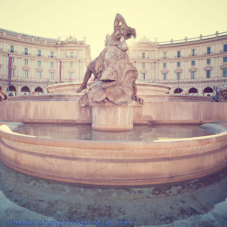 #Piazza della #Repubblica rome vacation photographer