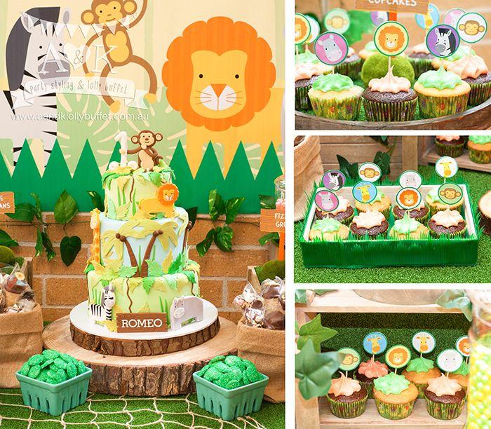 14 Best A&K Lolly Buffet {Jungle Safari 1st Birthday