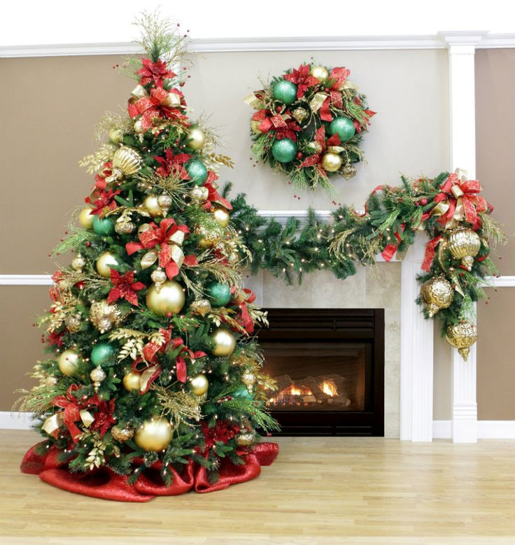 15 best christmas color theme ideas images on pinterest for Christmas tree colour ideas