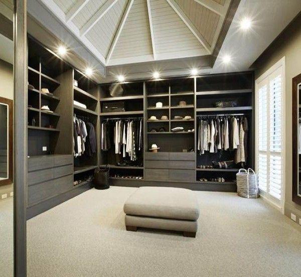 die besten 25 begehbarer kleiderschrank luxus ideen auf pinterest begehbarer schrank. Black Bedroom Furniture Sets. Home Design Ideas