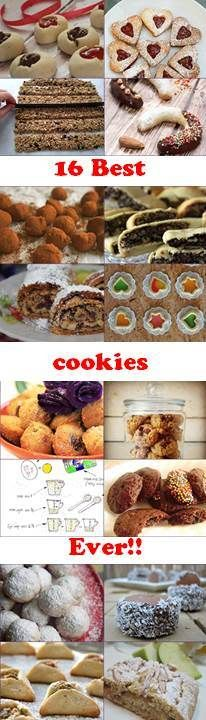 16 cookies recipes from the best bloggers in Israel.