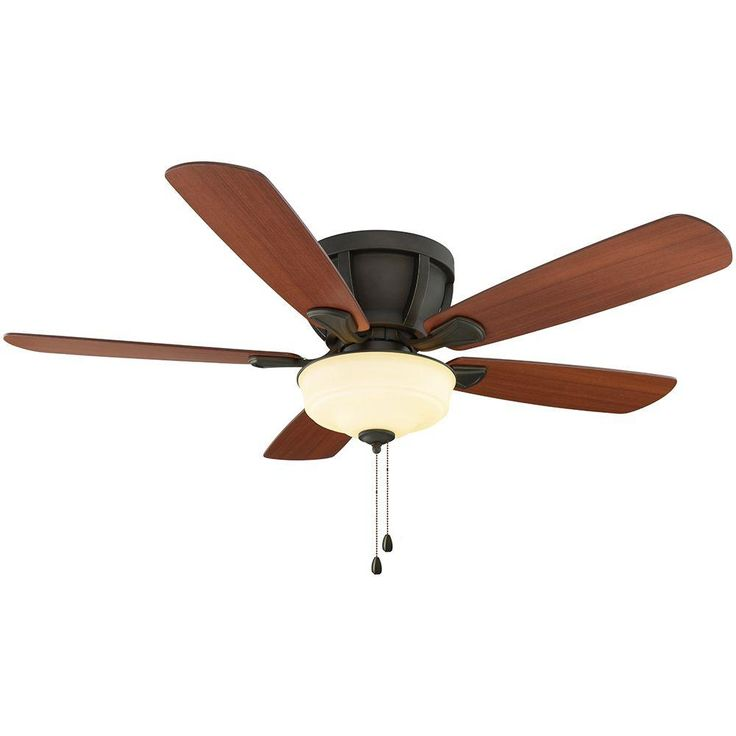 Home Decorators Collection Costner 52 In Indoor Oil Rubbed Bronze Ceiling Fan Oil Rubbed