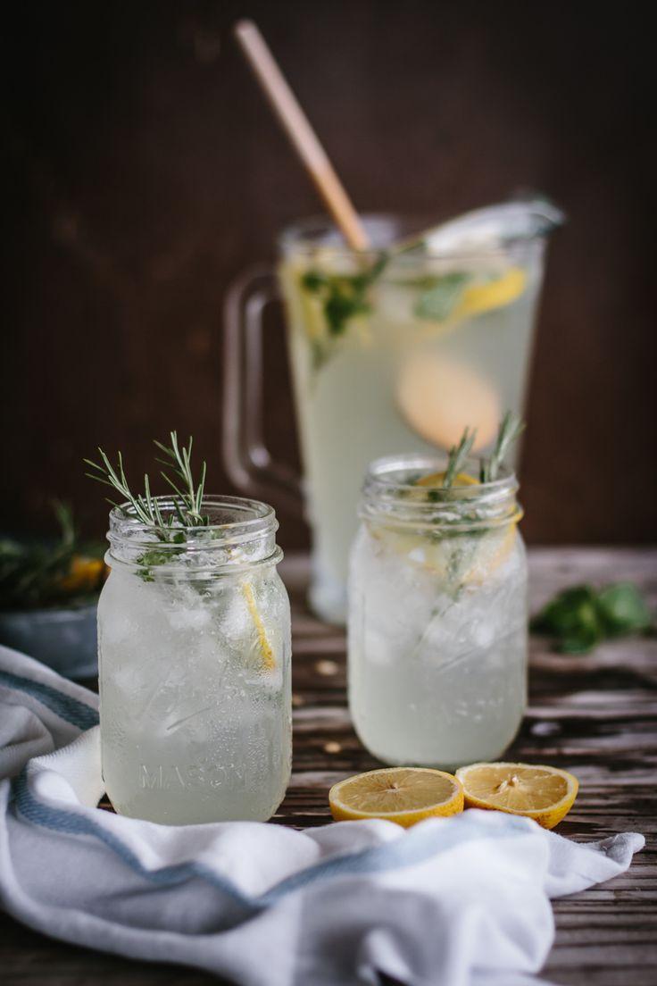 Mint and Rosemary Lemonade with Vanilla: A refreshing summer lemonade ...
