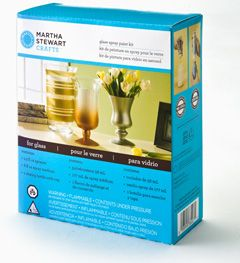 Martha Stewart Crafts™ Glass Spray Paint Kit  #Plaidonline.com #ChristmasCraftWishList