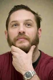 Focussed but Disconnected. If you do this, 'Relax your face'. Thanks, Tom Hardy
