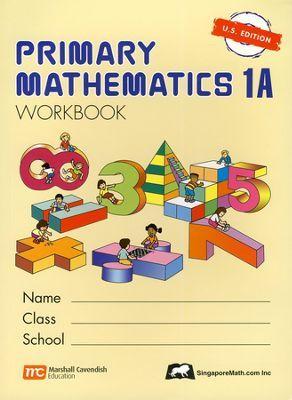 Singapore Math: Primary Math Workbook 1A US Edition   -