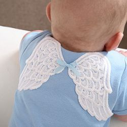 Girls Clothing :: Onesies - Tops :: Heaven Sent Onesie - The Couture Baby Product listing