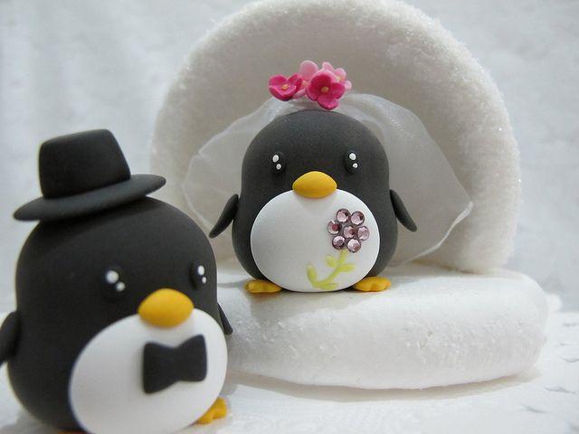 penguin cake topper. This is gonna happen!!