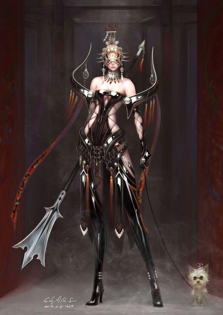 ArtStation - 二郎神-女, Casimir Lee