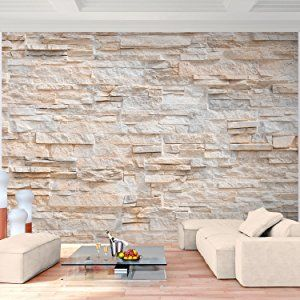 die besten 25 fototapete steinwand ideen auf pinterest steinwand tapete steinwand wohnzimmer. Black Bedroom Furniture Sets. Home Design Ideas
