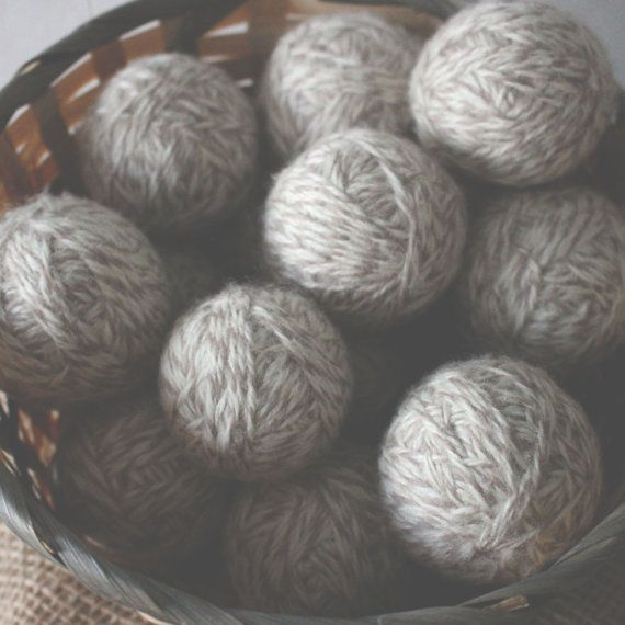 Wool dryer balls offer a #healthy, #safe alternative to encourage quicker drying, less #static, and overall softness of #laundry you put in the dryer.