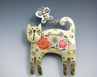 Kitty Kitty Navidad Pin Pin de Kitty Kitty Pin caprichoso