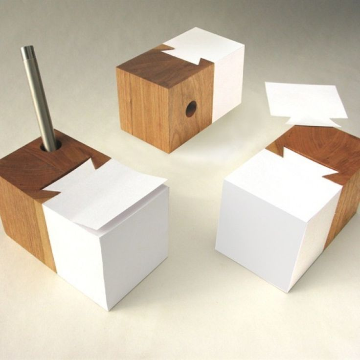 Contemporary Desk Accessories Schleeh Design Dovetail Pad   Contemporary   Desk Accessories