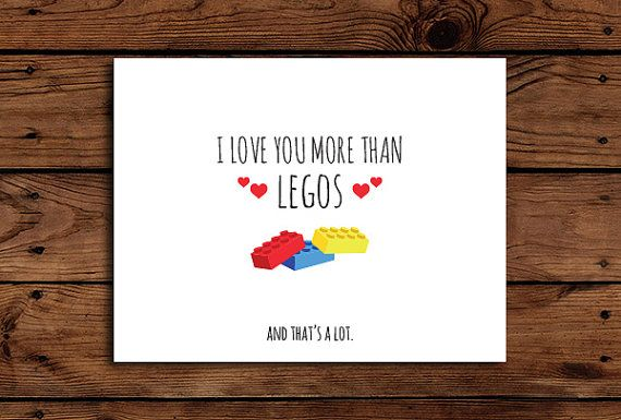 printable lego valentines day cards
