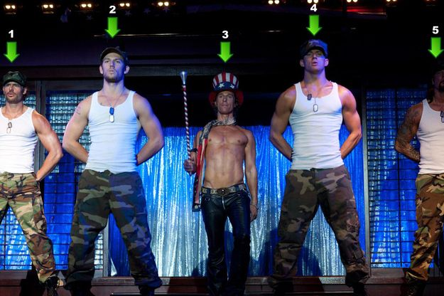 """Magic Mike"" - yes please"