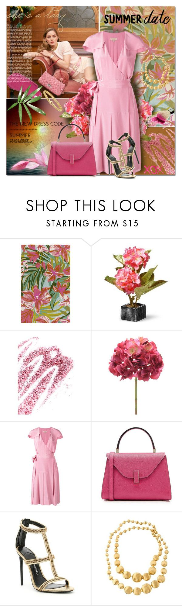 """""""Untitled #1922"""" by elena-777s ❤ liked on Polyvore featuring Joshi, Surya, National Tree Company, Obsessive Compulsive Cosmetics, Burberry, Valextra, GALA, Lumene, Tom Ford and Marco Bicego"""