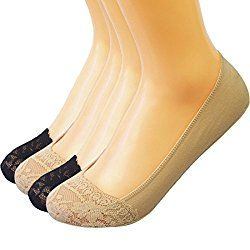Liner Ballet flats Silicone Grip kilofly No Show Silicone Heel Grip Non-Skid Socks   Liner Ballet flats Silicone Grip, this is the ultimate socks solution to go with ballet flats. The no-show coverage is so itty bitty; yet, the most important thing is, IT STAYS. The micorfiber material is very stretchy to fit lady's shoe size 6.5 to 9.5.   #Vampire Slave Bracelet