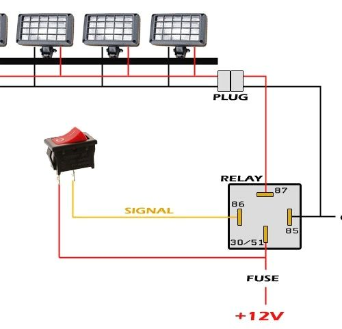 Led Light Bar Wiring Diagram Pretty How Wire Without Relay