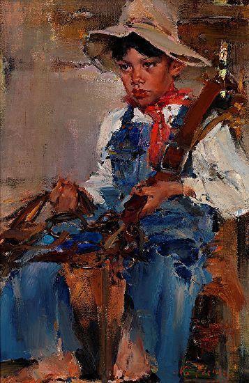 Nicolai Fechin's Painting Technique