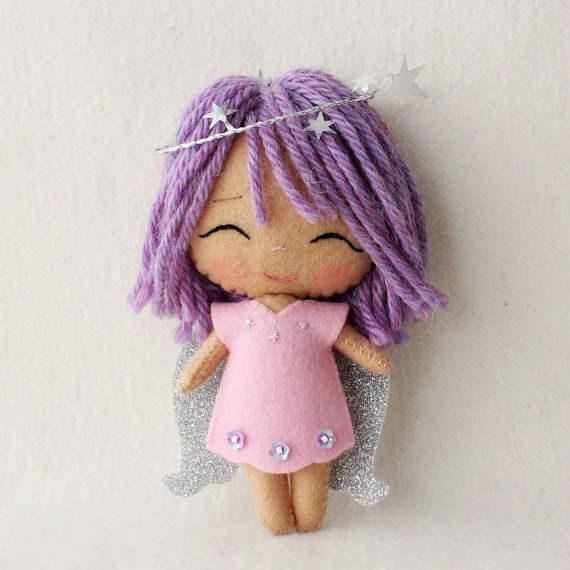 Twinkle Chibi Angel Pattern Kit by Gingermelon on Etsy