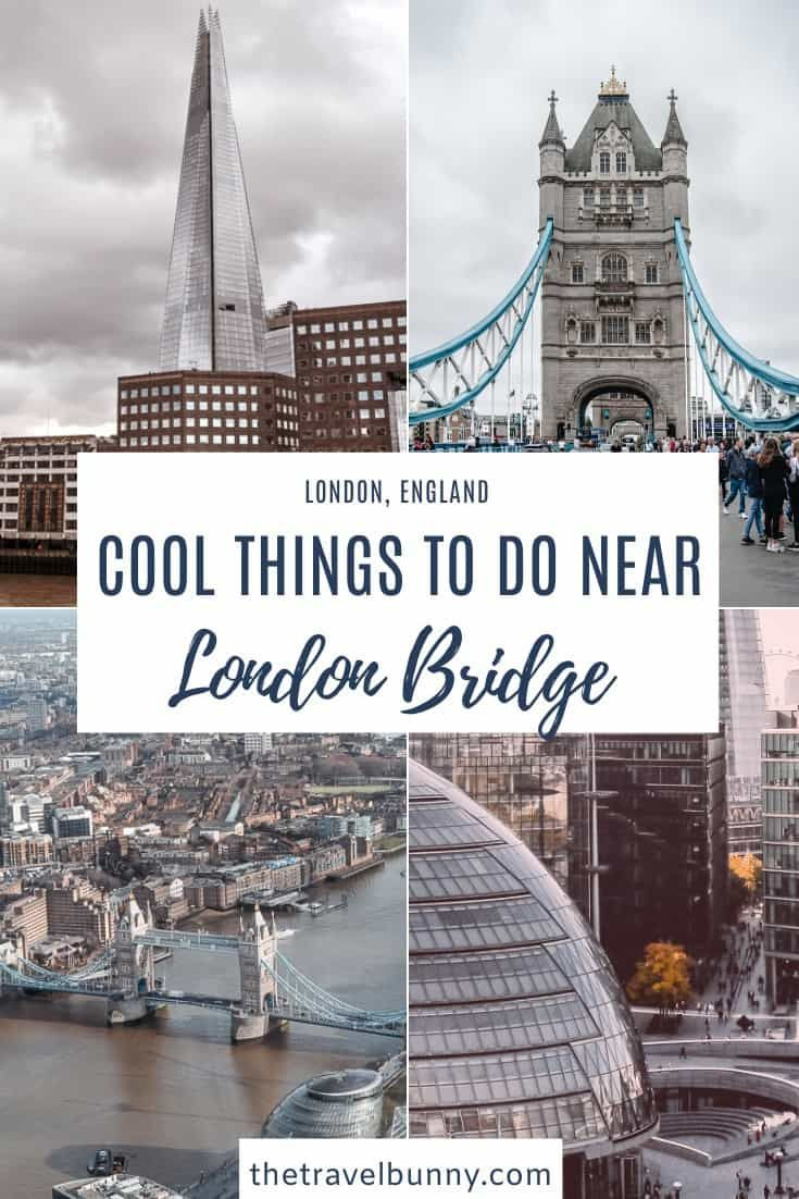 Cool things to do in and around London Bridge in 2020 | Tower bridge