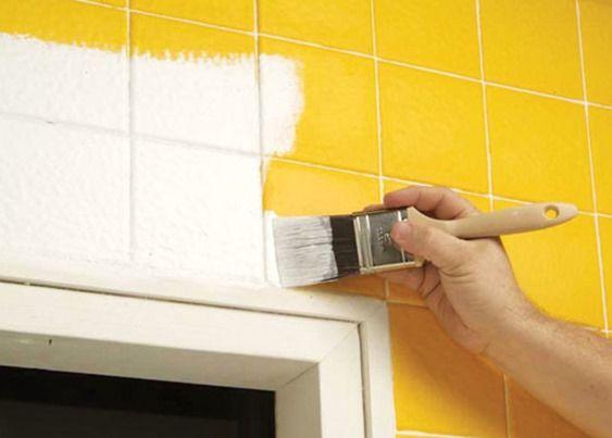Azulejo De Baño | Mas De 25 Ideas Increibles Sobre Pintar Azulejos Del Bano En