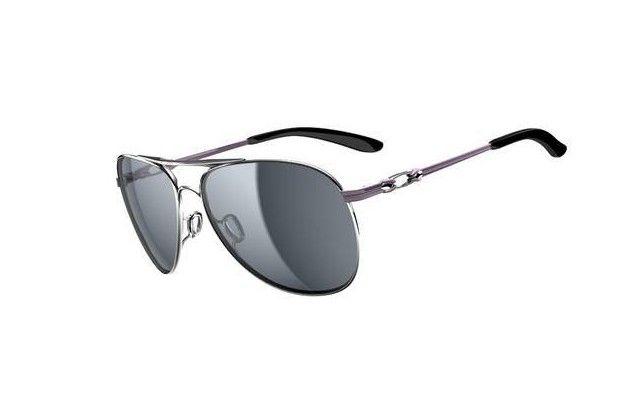 Oakley Daisy Chain Polished Chrome/Grey Sunglasses  $36.89 http://www.bigbootshotsale.com/
