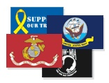 Military Flags - POW Flags