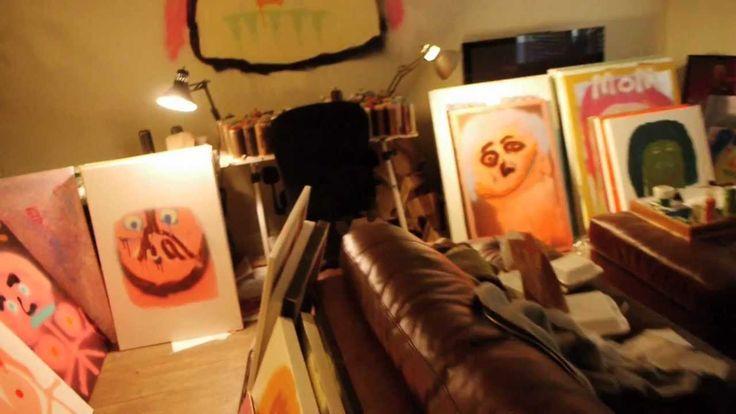 Andy milonakis art sneak peek art pinterest for Andy singer visual comfort