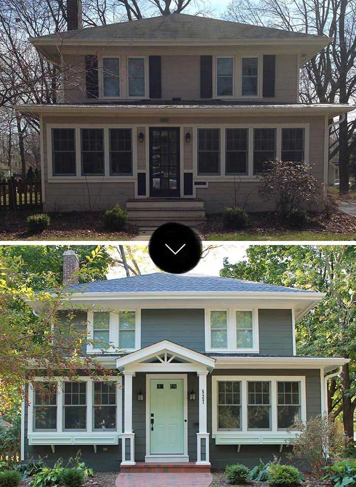 Home Exterior Renovation Before And After 185 best homes - before and after images on pinterest | home
