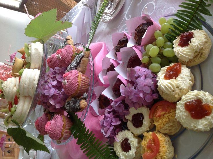 Offerings at High Tea held @Intaba View