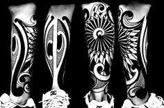 tattoo maori perna - Buscar con Google