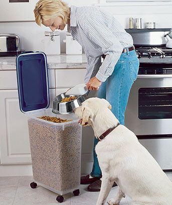$14.95 Pet food container.