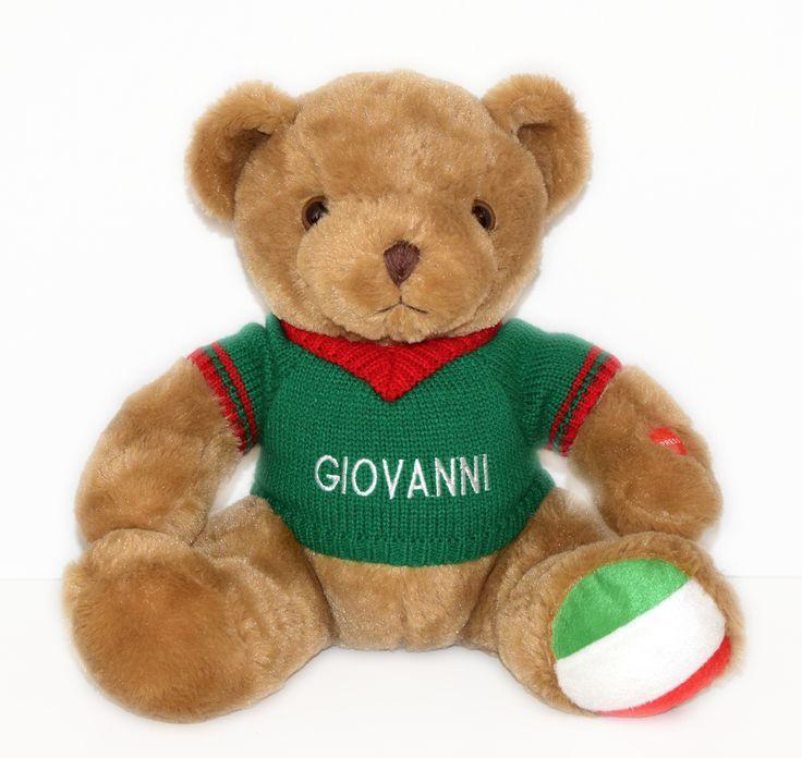 Giovanni the Italian Speaking Bear