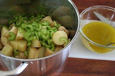 Mat På Bordet | En matblogg med oppskrifter fra morgen til kveld | potetsalat med bacon