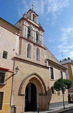 La Iglesia de Santa María la Blanca de Sevilla,(siglo XVII)  también llamada Iglesia de Santa María de las Nieves. Es sede de la Hermandad del Rosario de Nuestra Señora de las Nieves  Se trata de una hermandad de gloria creada a principios del siglo XVIII.