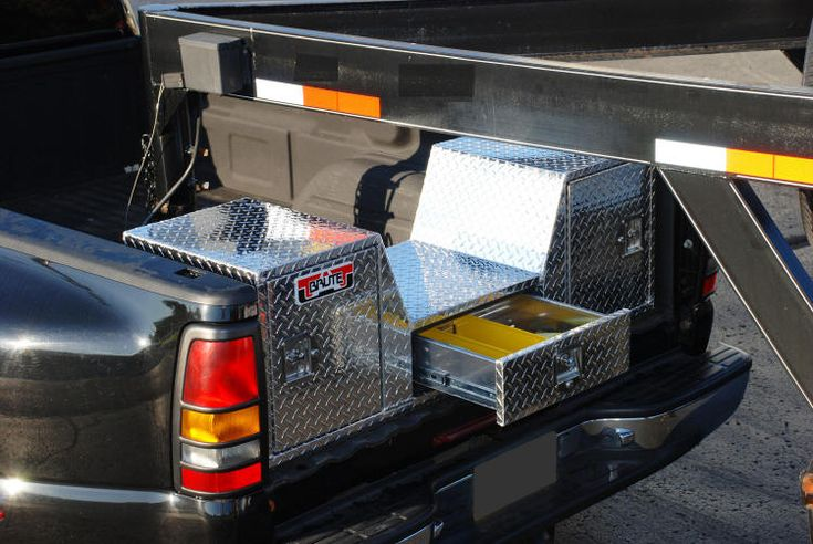 Goose neck truck tailgate tool boxthis is what we