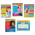 Primary Technology 5 St Learning Charts Combo Pack T-38961 Trend Enterprises Miscellaneous | K12 School Supplies | Teacher Supplies