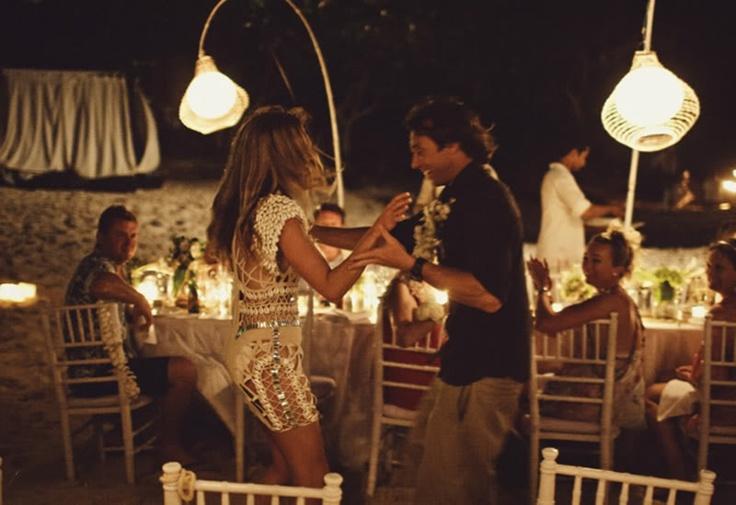 Strandbröllop.
