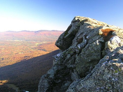 Vermont high point on Mt Mansfield. Not going to make it up here on this trip, but maybe in the future