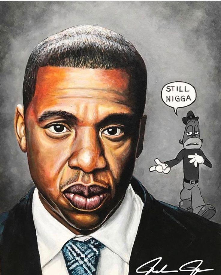 Jay Z Rap 4 44 Albumcover African American Artist