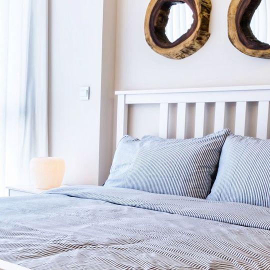 Drewniane łóżko Porto Meble Doktór Piękne Dwuosobowe Duże