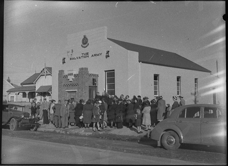 Opening Salvation Army Citadel, Railway Street, Merewether - 1955. Find more information about this picture: http://acms.sl.nsw.gov.au/item/itemDetailPaged.aspx?itemID=32639 . From the collection of the State Library of New South Wales www.sl.nsw.gov.au (Thank you State Library of NSW @Sarah Tate Library of NSW on Pinterest for giving The Salvation Army SNE Serving CT and RI @Matty Chuah Salvation Army SNE Serving CT and RI on Pinterest information about your terrific collections!).