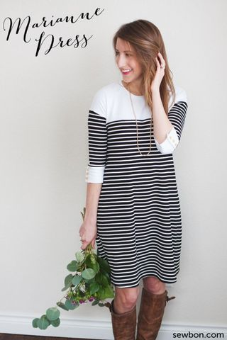 DIY Dress Sewing Pattern | Get inspired to make your own clothes at http://www.sewinlove.com.au/category/fashion/