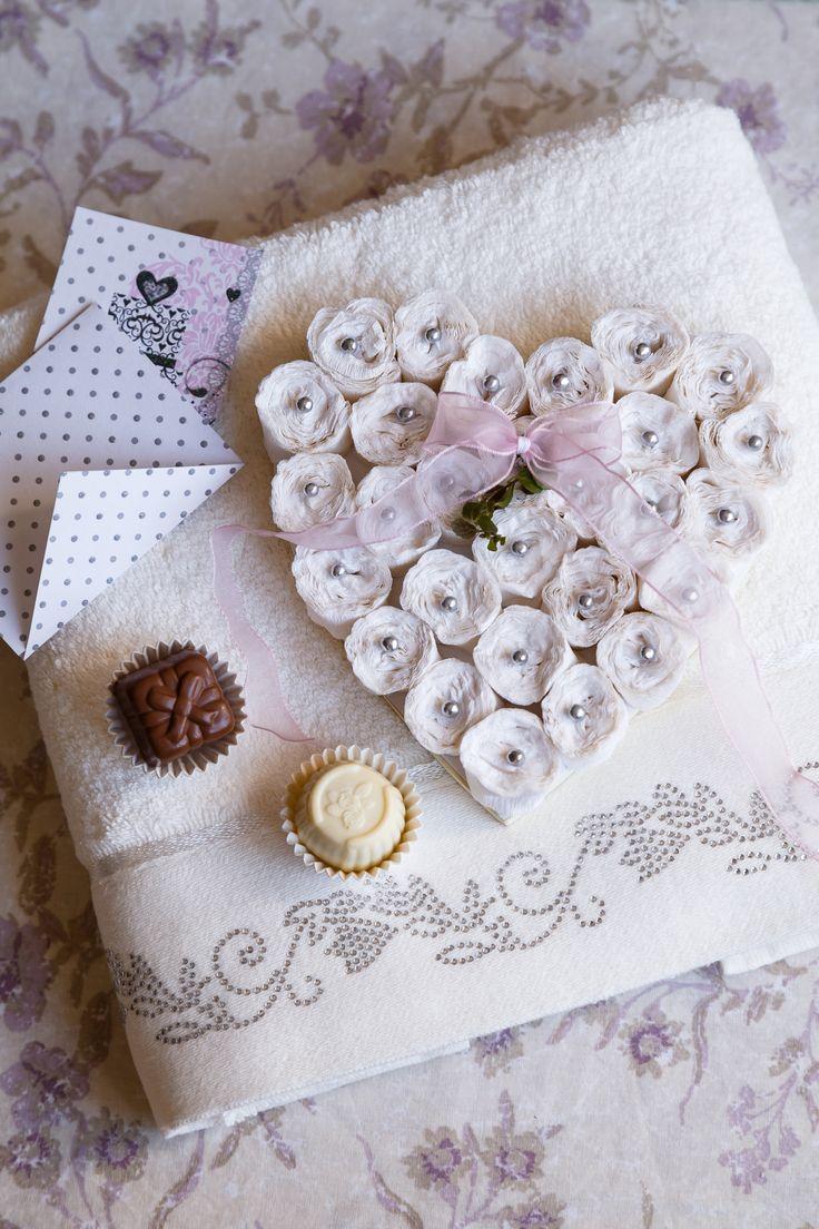 Ručníky pro nevěstu - decoDoma
