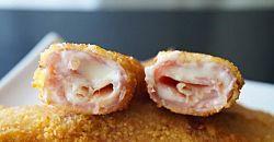 Rollo de pollo con salsa de mostaza y champiñones | Cocina