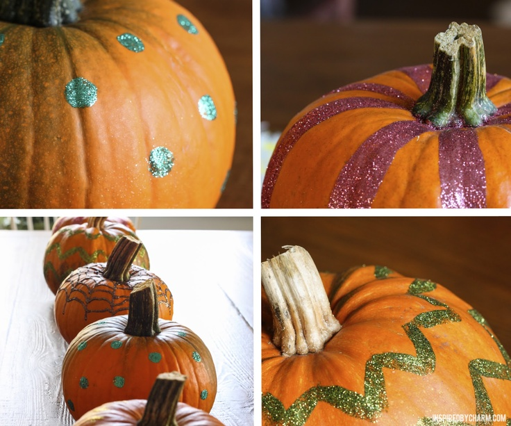 DIY Glitter Pumpkins - Perfect activity for a fall day. #Halloween in #Manayunk October 27, ALL DAY, in Pretzel Park!
