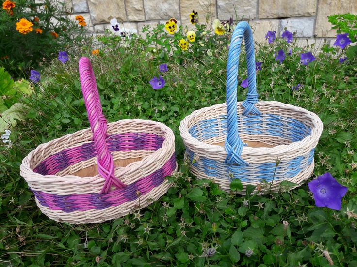 Košíky pro Máťu a Amálku